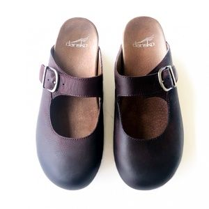 Dansko Martina Mary Jane Mules Size 39/8